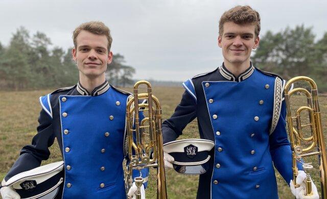 Sander en Bastiaan van den Tillaard