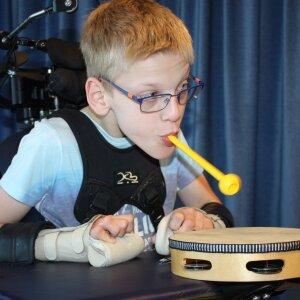 Muziekmakende kinderen speciaal onderwijs