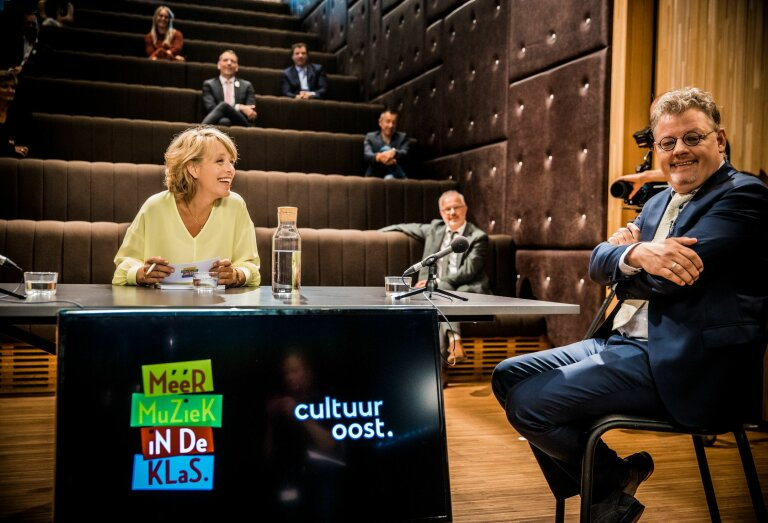 Online talkshow Muziekonderwijs in Gelderland