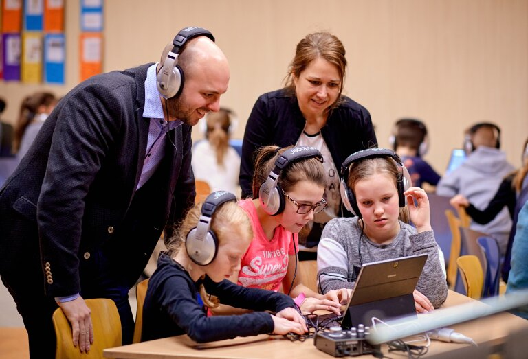 Digitaal componeren met Michiel Dijkman en Méér Muziek in de Klas