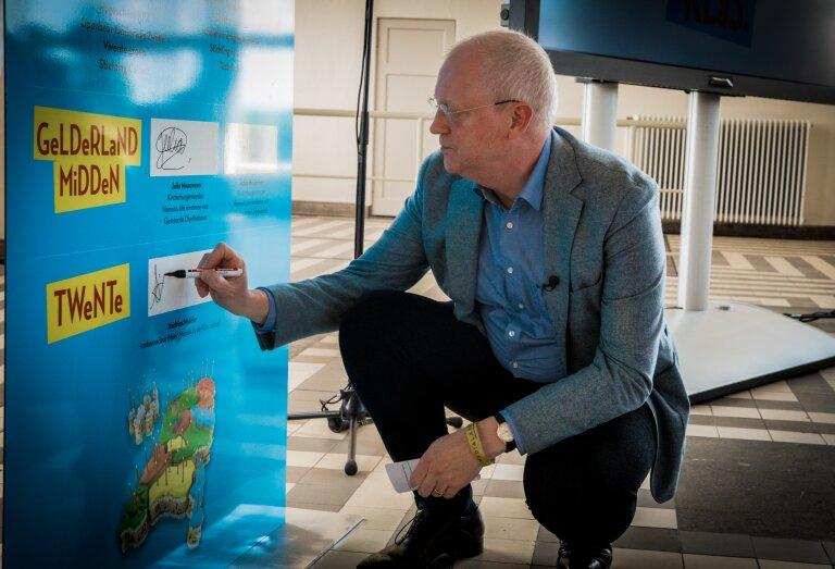 Andries Mulder - Voorzitter college van bestuur VCO Oost-Nederland en ambassadeur van Méér Muziek in de Klas Lokaal