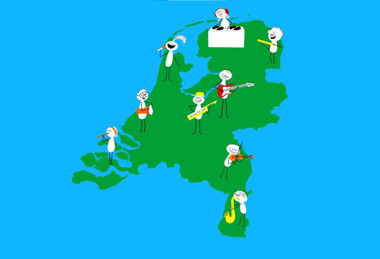 Verschillende regio's tekenen mee met het MuziekopleidersAkkoord