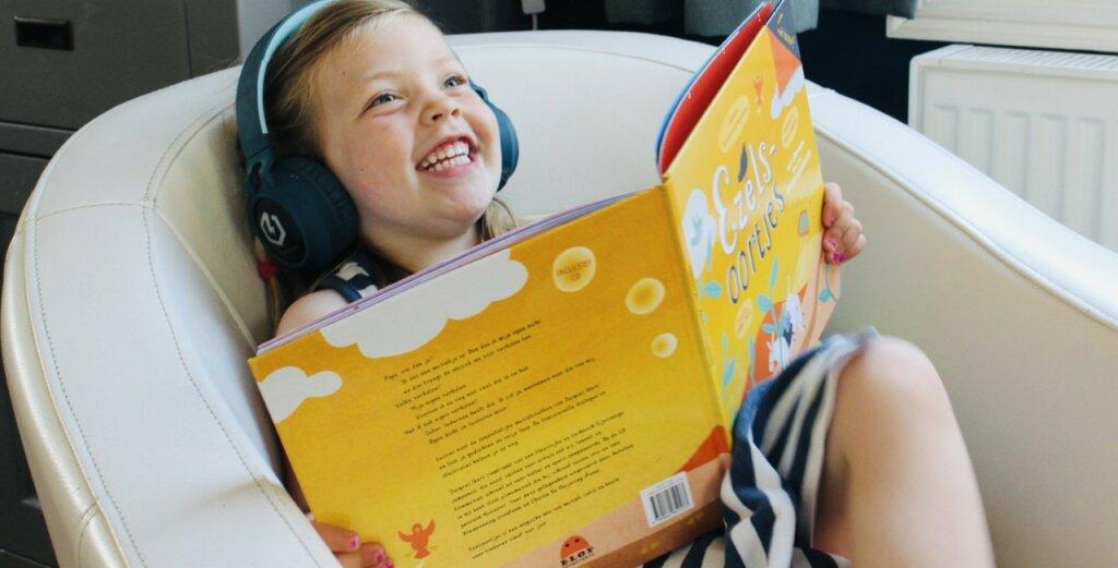 Luister-, kijk en fantaseerboek 'Ezelsoortjes'