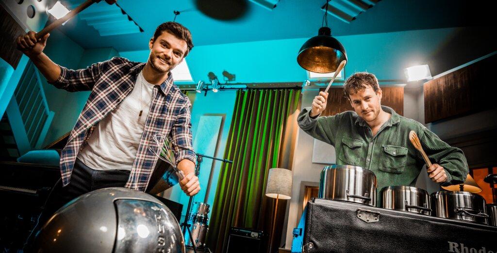 Nieuwe energizers met Sterre Koning, Buddy Vedder en meester Willem
