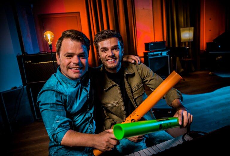 Méér Muziek in de Klas Energizers met Roel van Velzen en Buddy Vedder