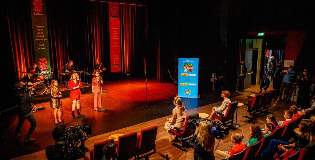 Aftermovie: Koningin Máxima bij viering successen muziekonderwijs in Brabant en Limburg