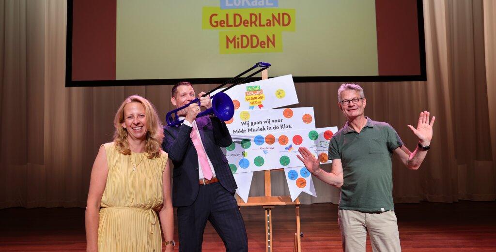 Regio Gelderland Midden gaat voor méér muziek op de basisscholen