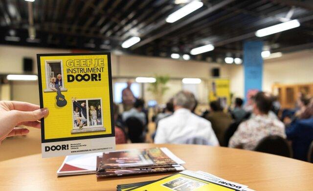 DOOR! Limburg lanceert crowdfunding 'Geef je instrument DOOR!'