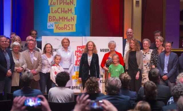 Zesde convenant muziekonderwijs: Zutphen, Lochem, Brummen en Voorst