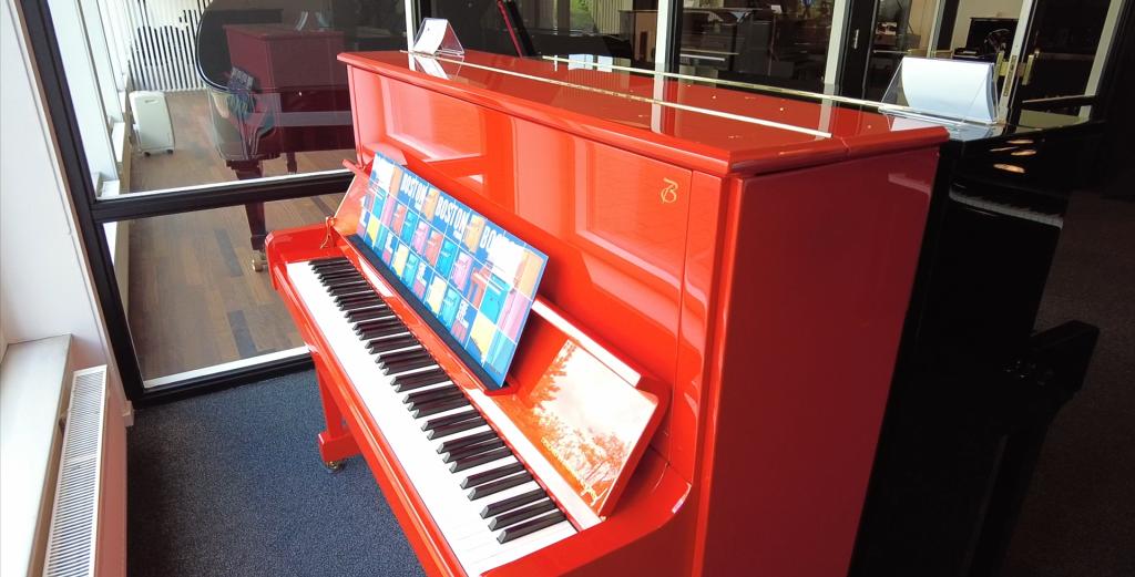 Piano's Maene steunt Méér Muziek In De Klas