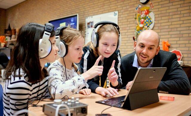 Creativiteit en digitale vaardigheden stimuleren met Digitaal Componeren in de Klas