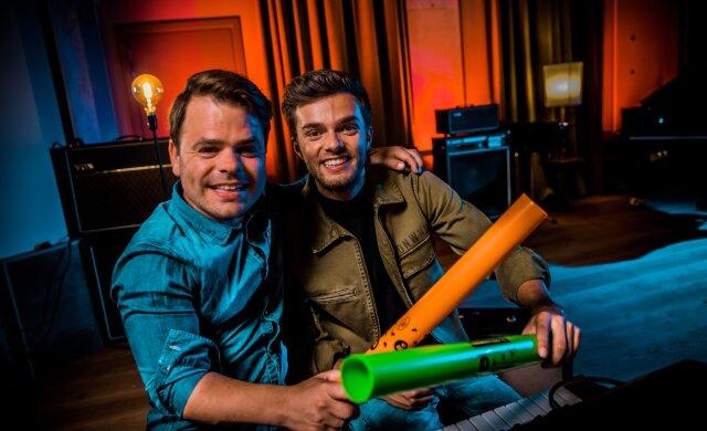 Roel van Velzen en Buddy Vedder geven je klas een muzikale boost