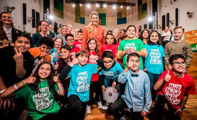Erevoorzitter Koningin Máxima aanwezig bij 'Een jaar MuziekopleidersAkkoord'!